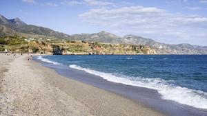 One of many, many beach views