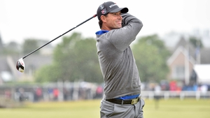 Padraig Harrington's superb iron play was undone by a cold putter in his final round