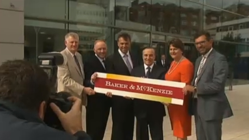 Baker & McKenzie is the first tenant of the newly built City Quays office block at Belfast Harbour