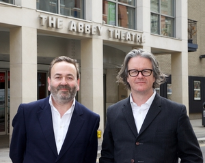 Neil Murray, left and Graham McLaren, right who have just been announced as the next Directors at the Abbey Theatre.