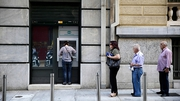 Greek bank shares comprise 20% of the bourse dropped 30%
