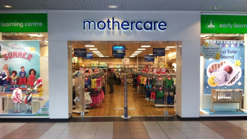 Sales slide at Mothercare