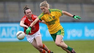 Yvonne McMonagle was among the Donegal goals again
