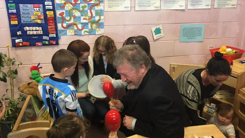 Minister for Children James Reilly launched the report this afternoon