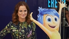 """Poehler with Inside Out alter-ego Joy: """"It's given me a new lens on how to look at the world and my feelings and my emotions"""""""