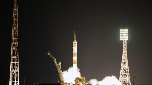 Soyuz rocket blasted off from Baikonur Cosmodrome