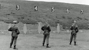 Army training at the Curragh in 1962 (Pic: credit RTÉ Archives)