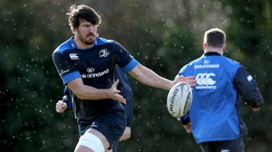 Kane Douglas played 20 times for Leinster