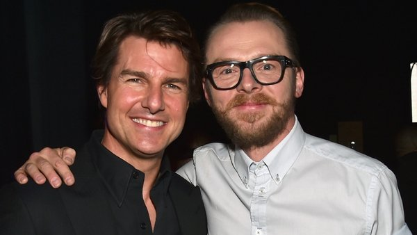Simon Pegg says his Mission Impossible co-star is just a regular guy