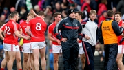 Brian Cuthbert looks set to part company with Cork