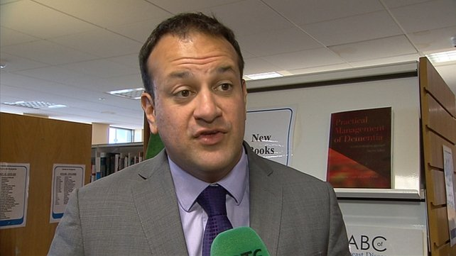 Minister for Health Leo Varadkar updated families on measures due to be implemented at the Midland Regional Hospital Portlaoise