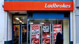 Ladbrokes Coral said its revenues for the year rose 11% to £2.3 billion.