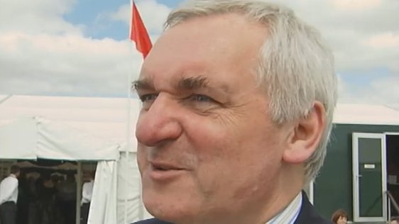 Bertie Ahern at the Galway Tent (2005)