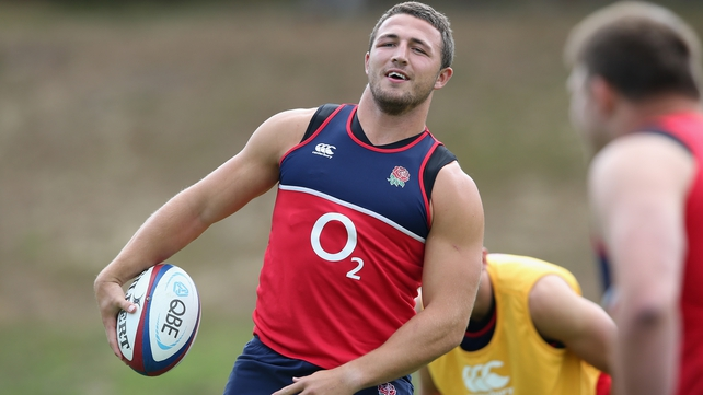 Sam Burgess centre of attention for