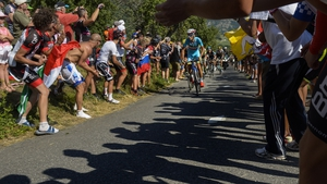 Italy's Vincenzo Nibali raced to victory on Sunday on home turf