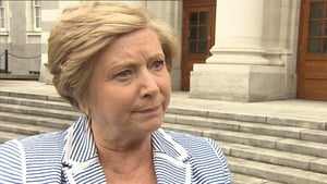 Frances Fitzgerald said the international situation makes the Government 'far more conscious of the issues'