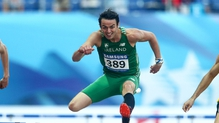 Thomas Barr has already qualified for the Olympics in Rio