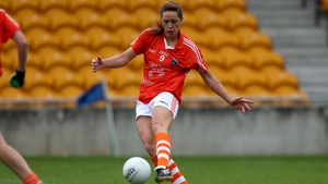 Caroline O'Hanlon was to the fore for Armagh