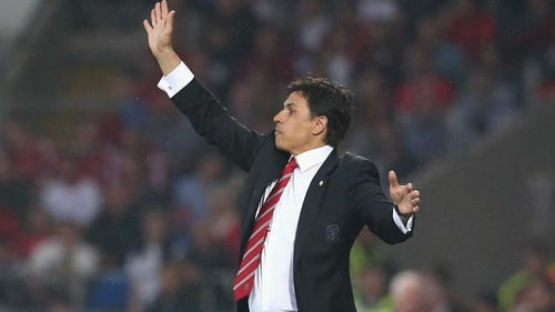 Chris Coleman managed Greek side Larissa prior to being appointed as Wales manager in 2012