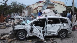 Al-Shabaab said it was behind the blast