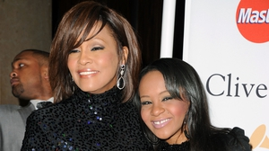 Whitney Houston and Bobbi Kristina Brown at the 2011 Pre-Grammy Gala and Salute to Industry Icons