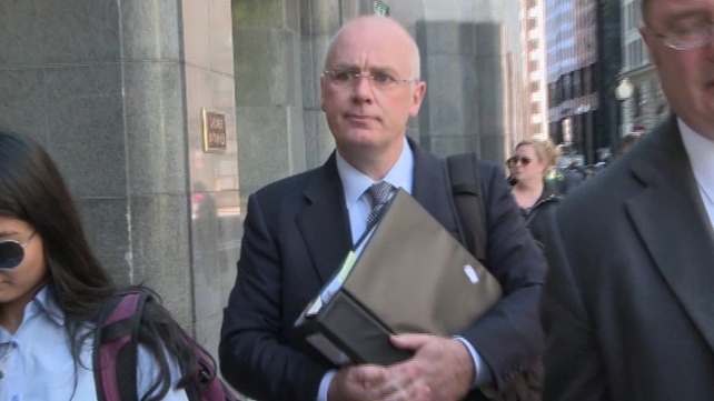 David Drumm resigned from Anglo Irish Bank in December 2008 and has lived in the US since 2009