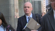 David Drumm faces charges here related to fraudulent loans Anglo made in 2008 intended to help prop up its share prices