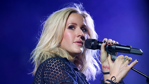 Ellie Goulding had a lucky escape