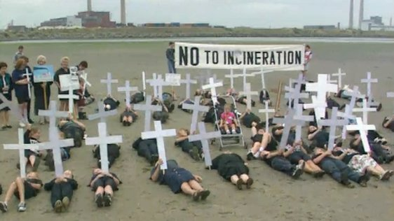 Incinerator Protest (1995)