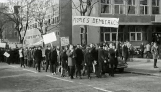 Civil Rights Protesters in Belfast