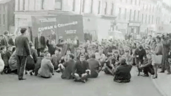 Derry Workers Civil Rights Demonstration