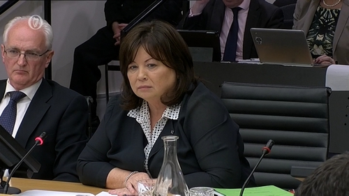 Mary Harney and John Gormley appeared before the banking inquiry today