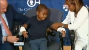 Six One News Web: US boy becomes youngest recipient of double hand transplant