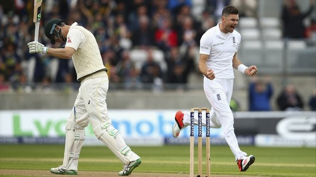 Anderson takes six to put England in command