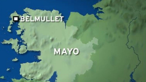 The accident happened on a farm at Ballinaboy, a short distance from Belmullet