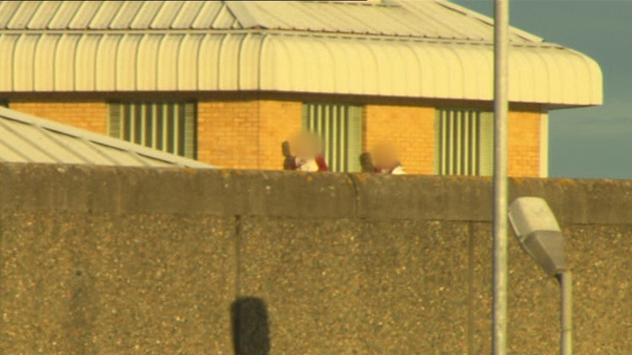 Rooftop Protest at Cloverhill Prison