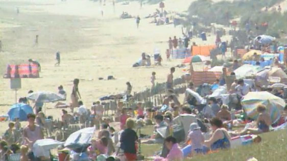 Weather Heatwave for Ireland