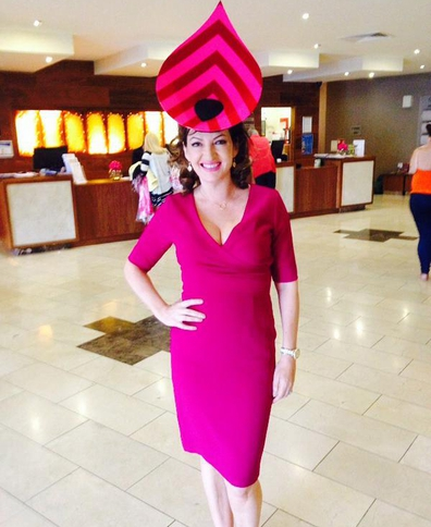 Maura Derrane stuns at Galway Ladies' Day