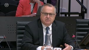 Mike Aynsley said IBRC had been encouraged to accelerate wind downs and disposals at the banks