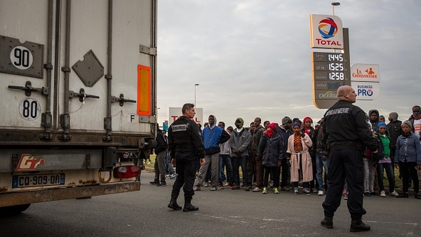 The situation in Calais has threatened to bring the cross-Channel haulage industry to a halt