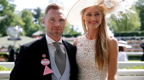 First photo of Ronan and Storm Keating's ceremony is released by Hello! magazine
