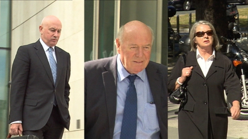 Tiarnan O'Mahoney, Bernard Daly and Aoife Maguire were found guilty on all counts