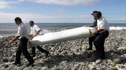 Plane debris was found on Wednesday washed up on La Reunion