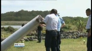 One News Web: Plane debris brought to France for testing
