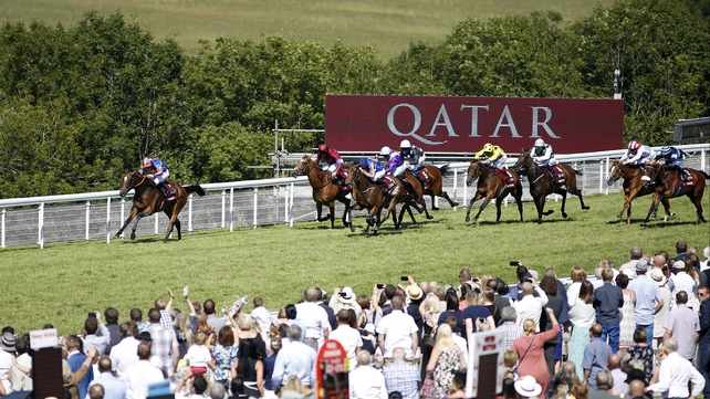 Legatissimo records smooth win in Nassau Stakes