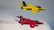 CarFest said in a statement an aircraft flying with the Gnat Display Team was involved in