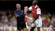 Roy Keane and Arsenal's Patrick Vieira were regularly at loggerheads