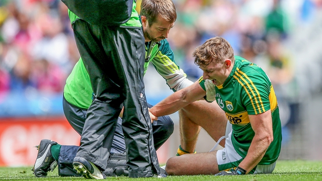 O'Donoghue suffers injury against Kildare