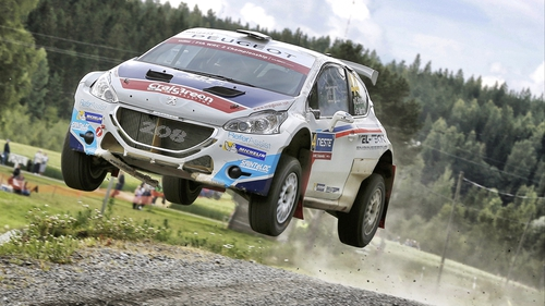 Craig Breen has claimed another impressive victory