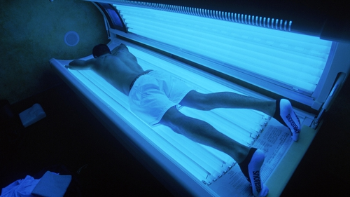 75% increased risk in melanoma when people begin tanning regularly before age of 35